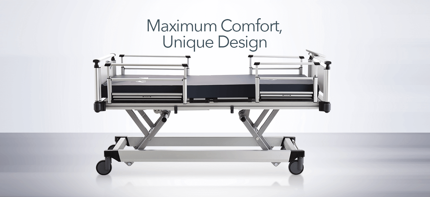 Hospital Bed, Hospital Beds, ICU Beds, Patient Bed, Intensive Care and Nursing Bed, Manual Bed, Mechanical Beds, Medical Carts, Crash Cart, Emergency Trolley, Emergency Cart, Transfer Stretcher, Emergency Stretcher